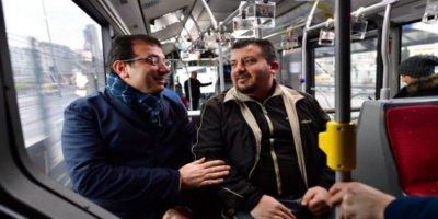 """İmamoğlu """"Metrobüs alacağım"""" diyen adamla buluştu!"""