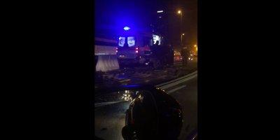 İstanbul Anadolu Yakası Uzunçayır Metro İstasyonunda Kaza