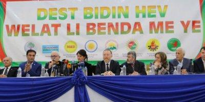 Kürt partileri yerel seçimler için birleşti