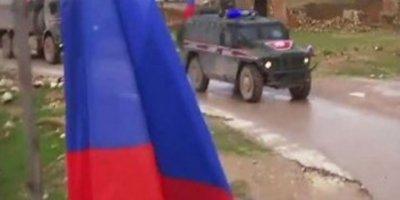 """""""Menbiç'te PKK/YPG ile Rus askeri devriyede"""" iddiası"""