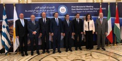 """Kahire'de Türkiye'siz """"Doğu Akdeniz Gaz Forumu"""" kuruldu!"""