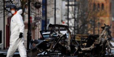 Brexit krizinin üzerine patlayan Kuzey İrlanda'daki bombada 'Yeni IRA' şüphesi