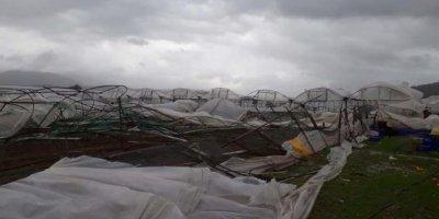 İşte Antalya'daki hortum faciasından son görüntüler!