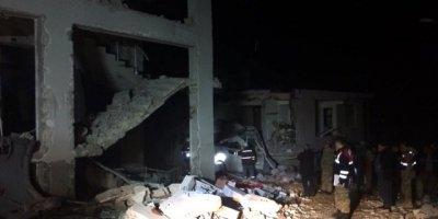 Hatay'da Bir Binanın Kazan Dairesinde Patlama Meydana Geldi! Ölü ve Yaralılar Var