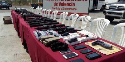 Venezuela'da ABD silahları ele geçirildi