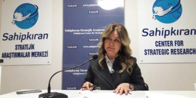 """Nuray Başaran SASAM'ın düzenlediği """"DERİN DEVLET, TÜRKİYE'NİN YAKIN TARİHİ VE BUNDAN SONRASI""""  konulu söyleşisinde konuştu"""