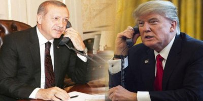 Cumhurbaşkanı Erdoğan, ABD Başkanı Trump ile telefon görüşmesi yaptı
