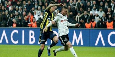 Beşiktaş-Fenerbahçe karşılaşmasında gol yağmuru