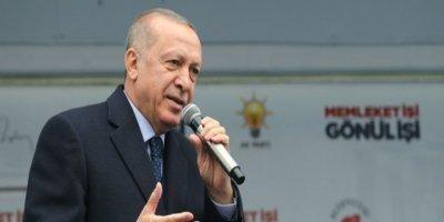 Cumhurbaşkanı Erdoğan: Bizim Kürdistan diye bir bölgemiz yok