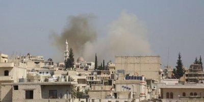 Esad güçleri sivil savunma merkezini vurdu