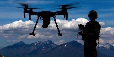 """Terör örgütü PKK, Suriye'nin kuzeyinden son iki haftada """"drone""""lu 12 saldırı düzenledi"""