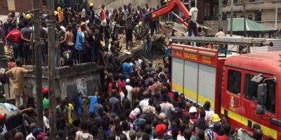 Nijerya'da ilkokul binası çöktü: Çok sayıda öğrenci enkaz altında