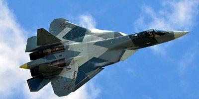 VLADİMİR PUTİN, BEŞİNCİ NESİL RUS ''SU-57'' AVCI UÇAKLARINI DÜNYANIN EN İYİ SAVAŞ UÇAĞI OLARAK NİTELENDİRDİ
