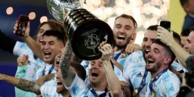 Copa America şampiyonu Messi'li Arjantin!