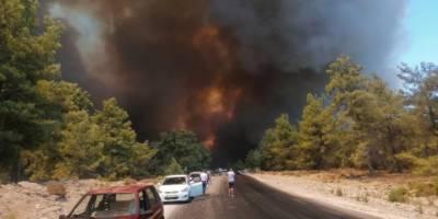 Bakan Pakdemirli, Antalya'daki Yangın Bölgesine Geliyor
