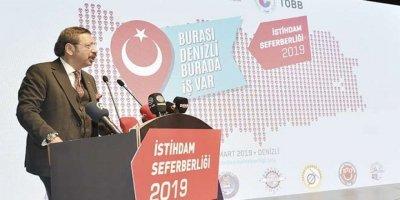 TOBB Başkanı: Bir vatandaşımızı işe alın