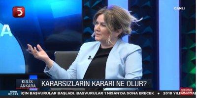 Nuray Başaran, Tv5'in Ankara Kulisi Programında Yerel Seçim Sürecini Değerlendirdi