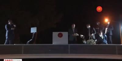 Erdoğan, Marmaris'te çay dağıttı!