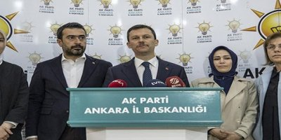 AK Parti Ankara'da 25 ilçe için il seçim kuruluna başvuracak