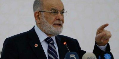 """Karamollaoğlu: """"Size batan oklar, CHP'nin değil hakikatin oklarıdır"""""""