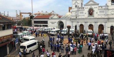 Sri Lanka'da iç savaş bitmesinden bu yana en büyük saldırılar: En az 156 ölü, yüzlerce yaralı