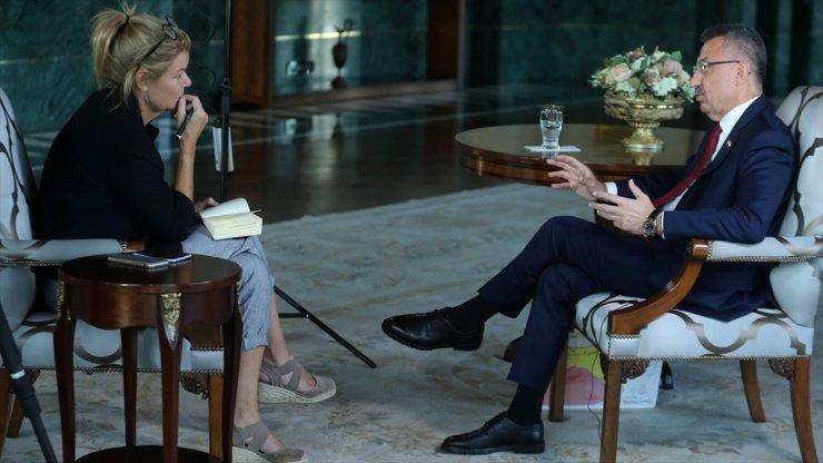 Cumhurbaşkanı Yardımcısı Fuat Oktay, Bir Terör Örgütüyle Görüşemez Veya Pazarlık Edemezsiniz