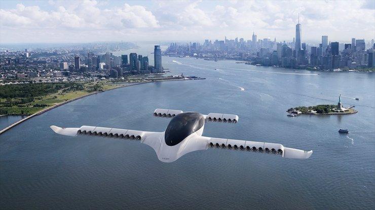Elektrikli Uçan Taksi Test Uçuşunun İlk Aşamasını Tamamladı