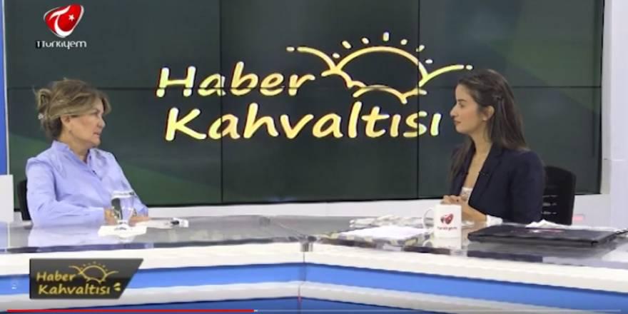 TÜRKİYEM TV - HABER KAHVALTISI - 08.10.2019 - Nuray Başaran