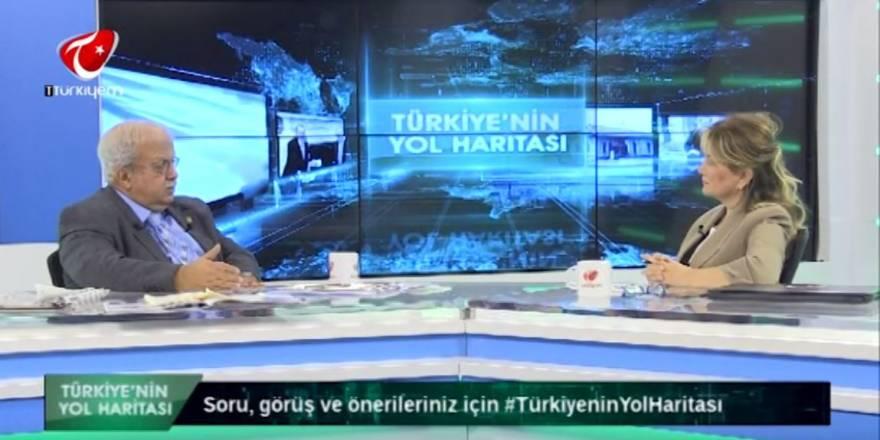Nuray Başaran Türkiyem TV'de  -TÜRKİYE'NİN YOL HARİTASI - Prof. Dr.Anıl Çeçen 21.11.2019 Part I