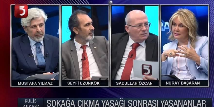 Mustafa Yılmaz ile Kulis Ankara - Nuray Başaran - Seyfi Uzunkök - Sadullah Özcan